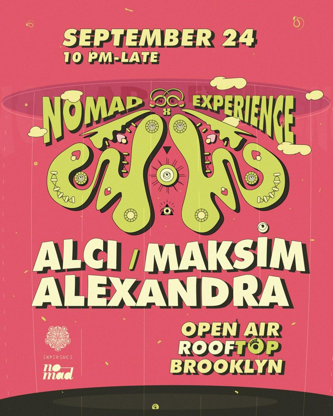 Nomad x Experience with Alci, Alexandra, & Maksim event thumbnail
