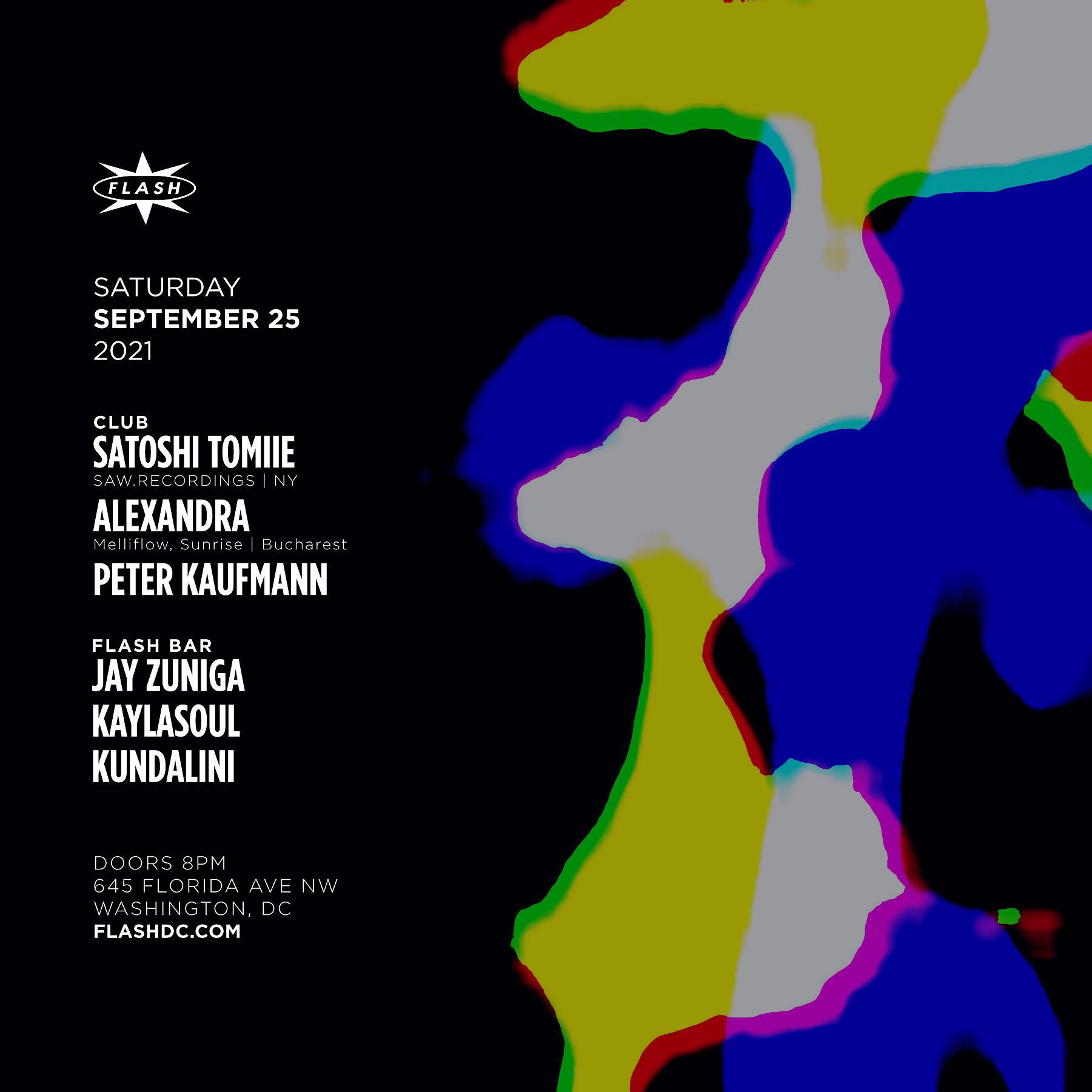 Satoshi Tomiie - Alexandra event thumbnail