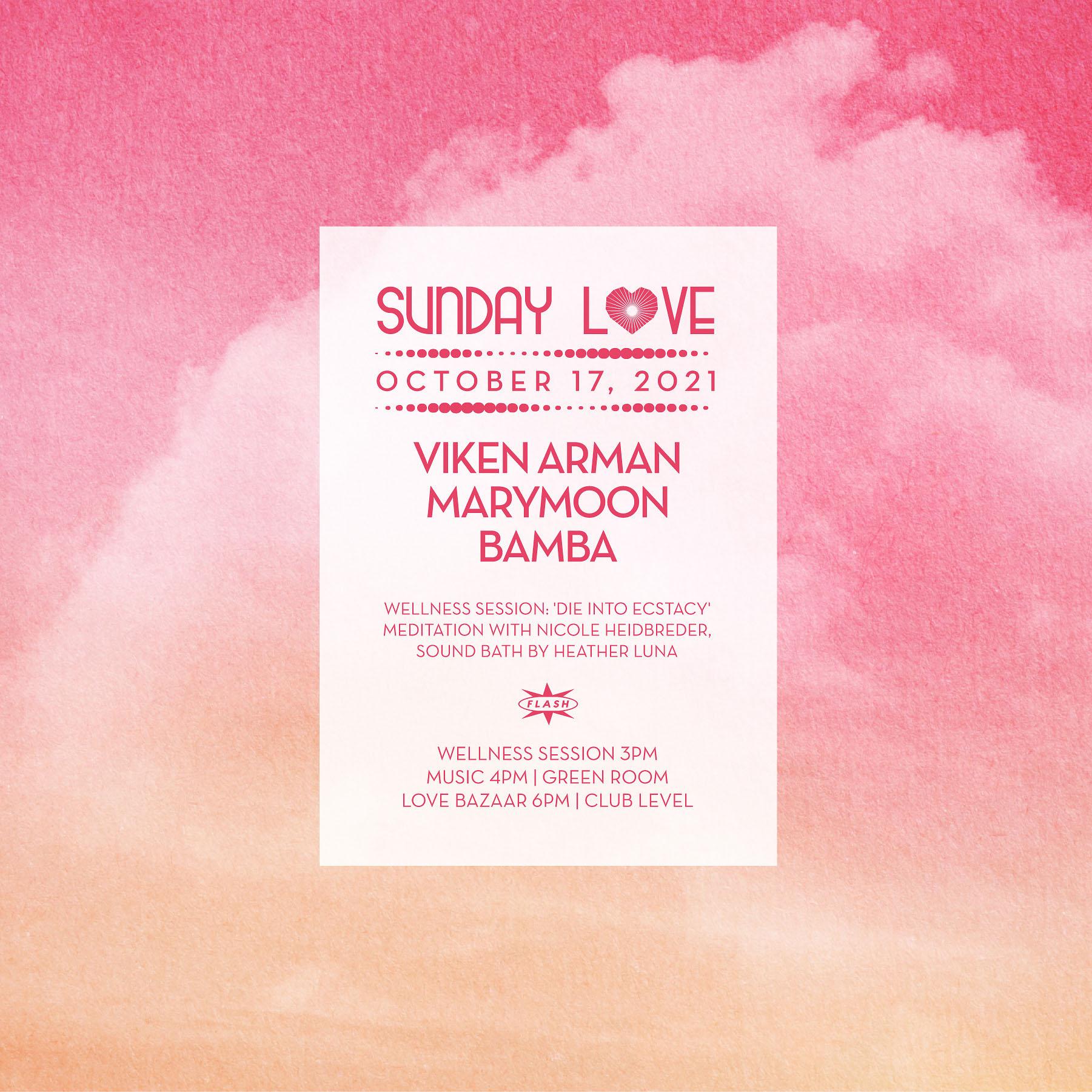 Sunday Love: Viken Arman - Marymoon - Bamba event thumbnail
