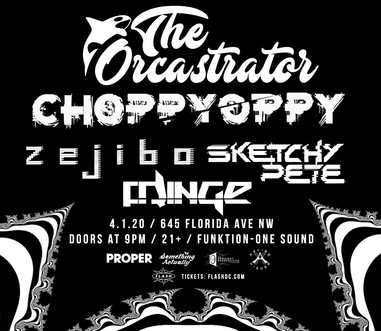The Forced Reset Tour: The Orcastrator - Choppy Oppy - Zejibo event thumbnail