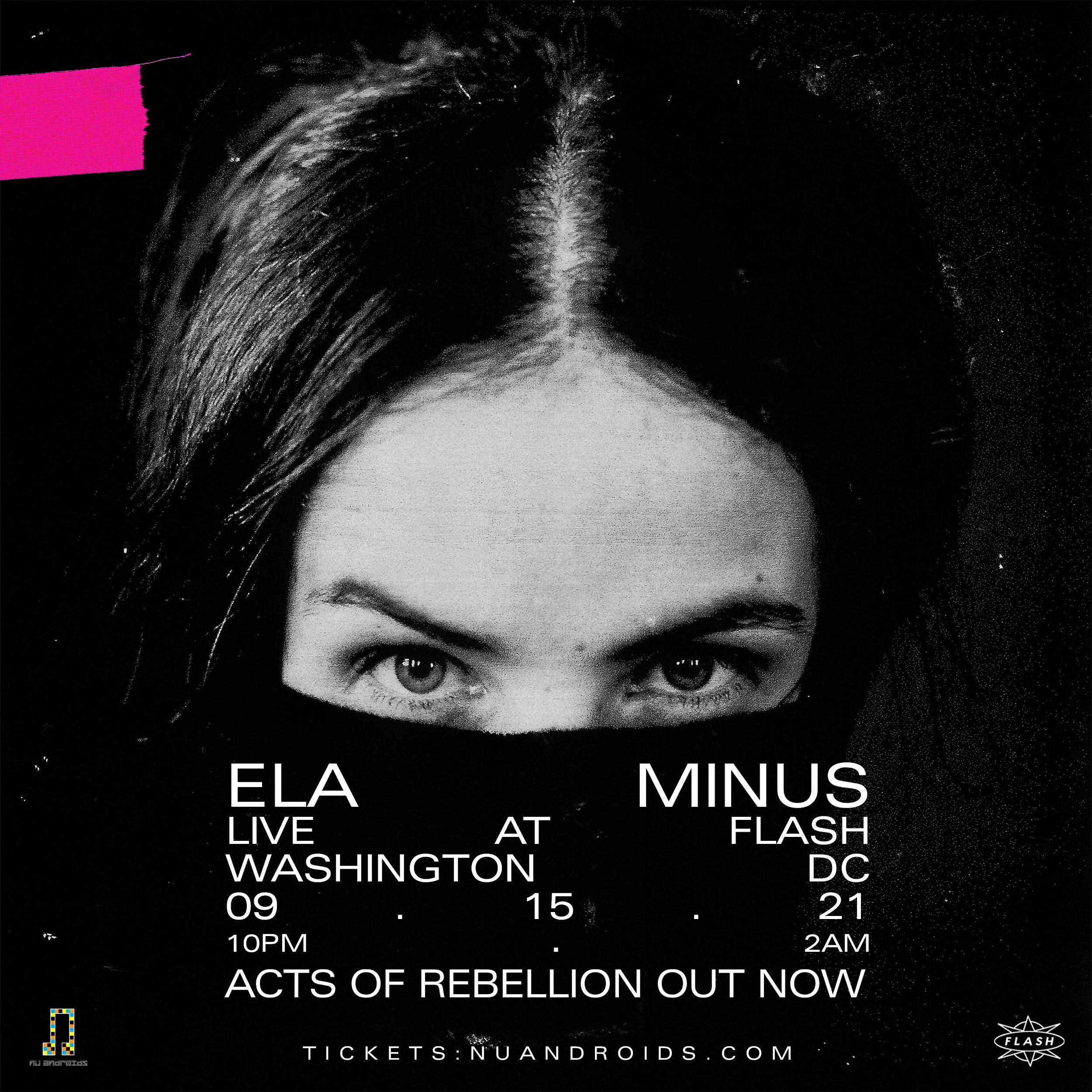 Nü Androids Presents: Ela Minus event thumbnail