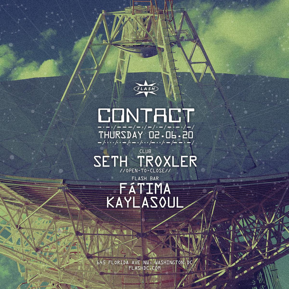 CONTACT: Seth Troxler [Open-To-Close] event thumbnail