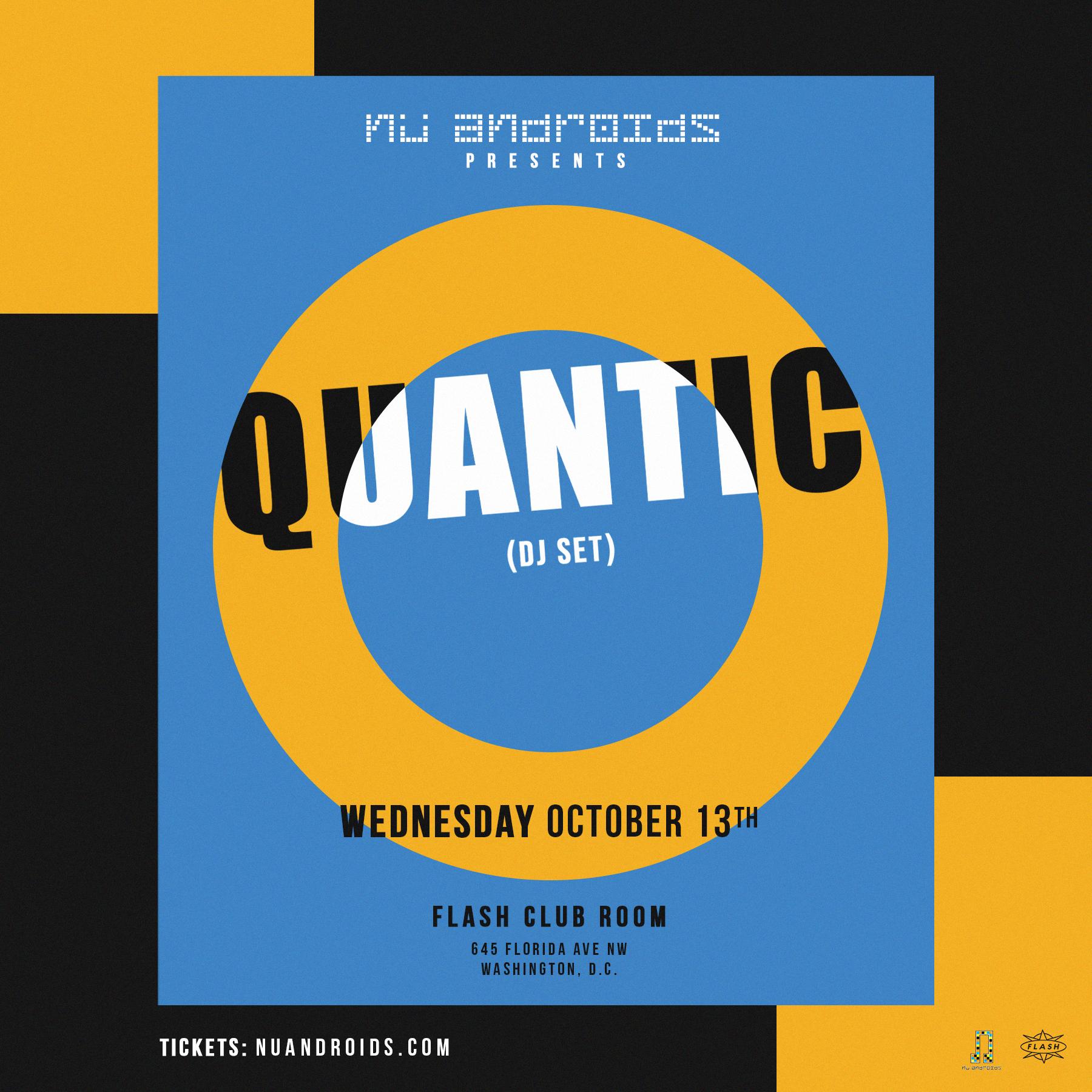Nü Androids Presents Quantic: DJ Set event thumbnail