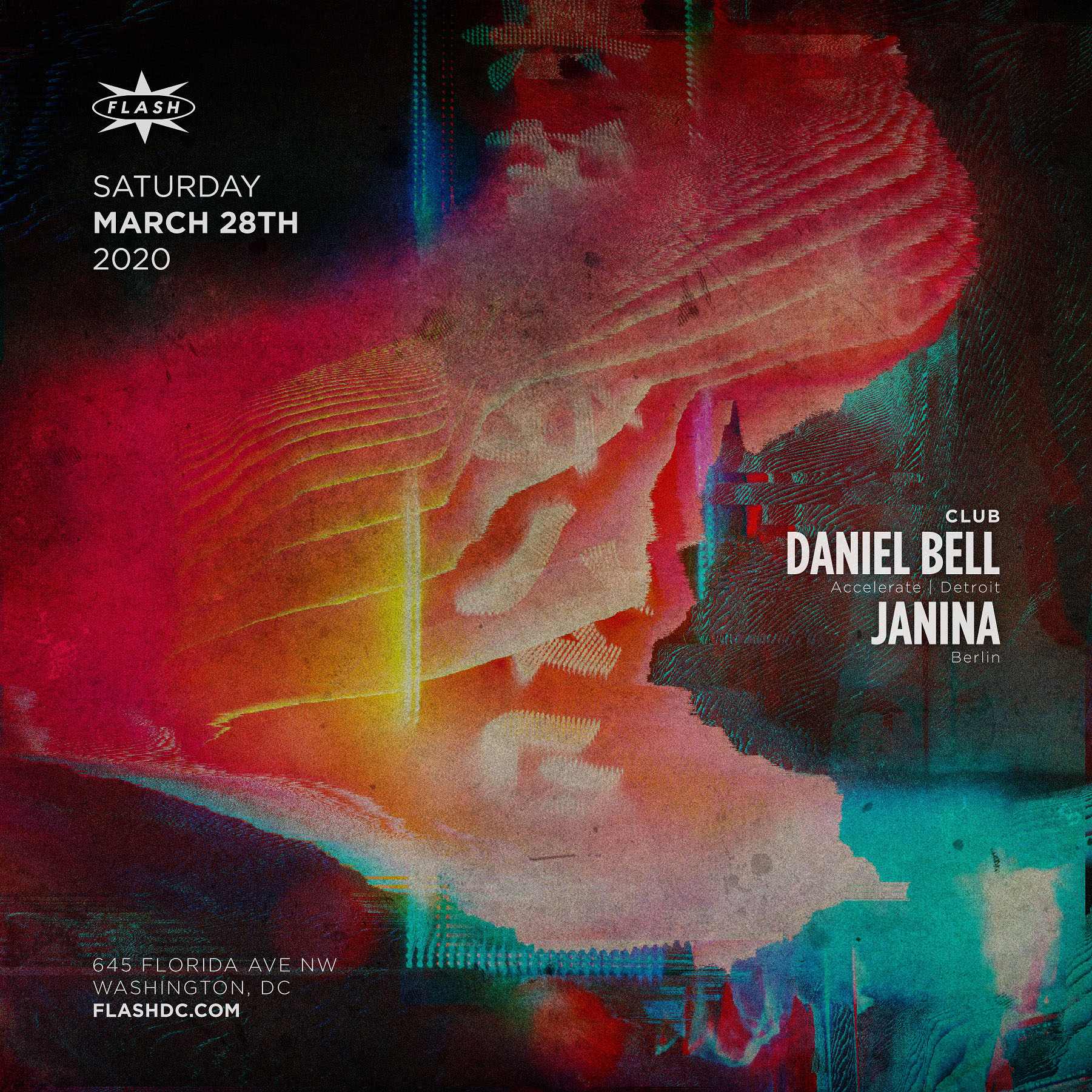 [Postponed] Daniel Bell - Janina event thumbnail