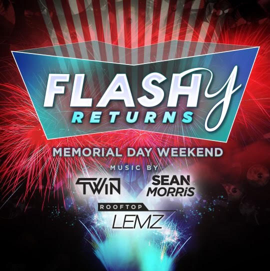 Flashy Memorial Day Weekend event thumbnail
